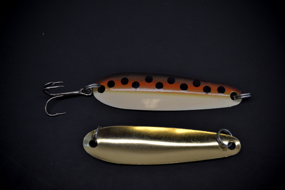 Brown Trout with Brass Back (#100 Size)