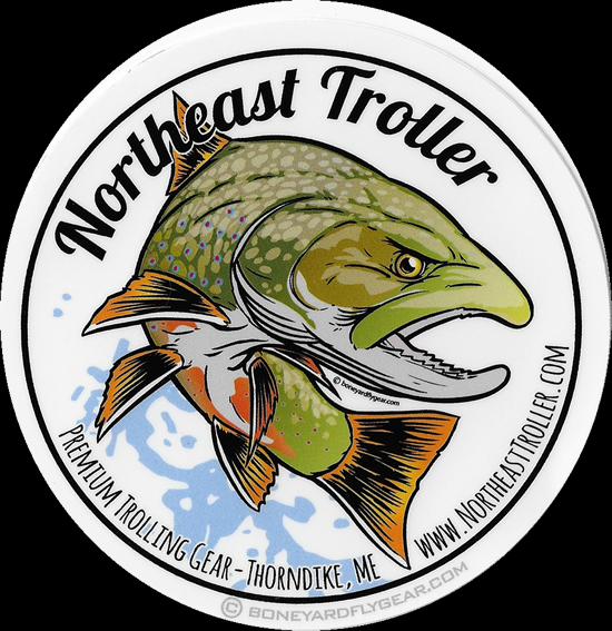 Northeast Troller Decal - Brook Trout