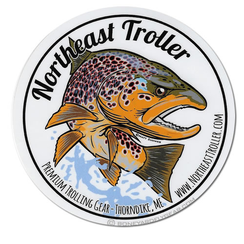 stickers & decals : northeast troller, premium hand crafted, Fly Fishing Bait